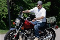 Peter McKay might get a big expensive motorcycle -- if it has a long payment plan.