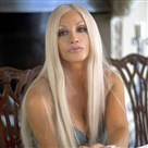 "Gina Gershon stars as Donatella Versace in Lifetime's ""House of Versace"" at 8 p.m. Saturday."