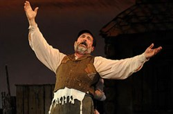 "Lewis J. Stadlen is Tevye in Pittsburgh CLO's ""Fiddler on the Roof,"" at the Benedum Center in 2012."