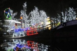 Kennywood's Holiday Lights.