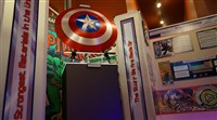 The Comic-tanium: The Super Materials of the Superheroes was on display at Toonseum in 2014.