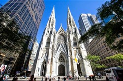 St. Patrick's Cathedral in New York, Sept. 15, 2015.