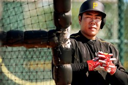 Jung Ho Kang in a February 2015 file photo.