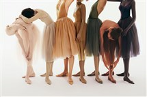 Christian Louboutin's Nudes collection has expanded to include ballet flats in a range of shades to cater to diverse skin tones.