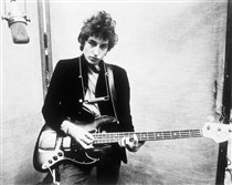 "Bob Dylan, seen here in 1965, won the 2016 Nobel Prize in Literature for writing songs such as ""Like a Rolling Stone"" and ""All Along the Watchtower."""