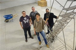 In this Thursday, January 12, 2017, file photo, pictured are, from left, Adam Paulisick, Kit Mueller, Ashley Cecil and Nate Mitchell at The Shop in Homewood.