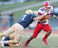 McKeesport's Carlinos Acie broke free for 853 yards on 83 carries this past season, an average of 10.3 yards per carry.