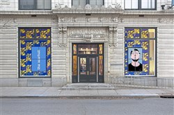 Front of Andy Warhol Museum (photo by Abby Warhola)