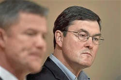 Whether he knows it or not, Pirates owner Bob Nutting, right, is the face of the franchise.