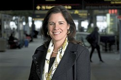 Christina Cassotis, CEO of the Allegheny County Airport Authority, at the Pittsburgh International Airport.