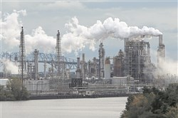 The Philadelphia Energy Solutions refinery in operation in  2014