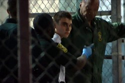 Nikolas Cruz at Broward County Jail, Feb. 15