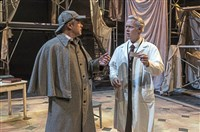 "Darren Eliker and Tim McGeever in Kinetic Theatre's ""Holmes and Watson."""