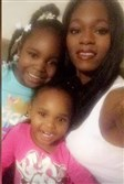 Keiauna Davis and her daughters 6-year-old Azaylah and 2-year-old Aliviyah