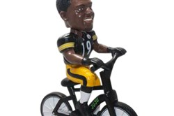 The new bobblehead featuring the Steelers' JuJu Smith-Schuster.