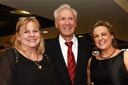 Honorees Dr. Barbara Clark,  left, Dr. Demetrius Ellis and Nikki McKenna.