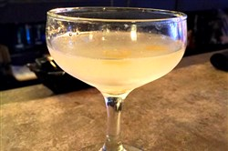 The Reviver with gin, lemon, triple sec and Cocchi Americano at Streets on Carson.