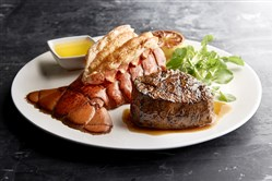 The Steak and Lobster Special at Morton's the Steakhouse, Downtown, is $59 on Easter Sunday.  Credit: Morton's the Steakhouse