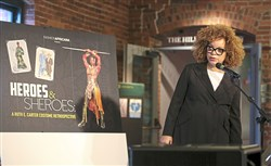 "Renowned costume designer Ruth Carter, who has designed for films including Selma, The Butler, Roots, Black Panther and many more, introduces a new retrospective fashion exhibition, ""Heroes & Sheroes: A Ruth E. Carter Costume Retrospective,"" that will highlight costumes from throughout her extensive career, Tuesday March, 20, 2018, at the Heinz History Center in Downtown Pittsburgh."