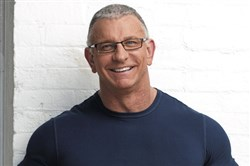 Celebrity chef Robert Irvine's newest release is the Fit Crunch protein powder. His Fit Crunch protein bars are made at Bakery Barn in Pleasant Hills.