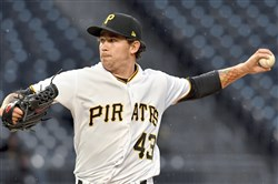 Pirates pitcher Steven Brault performed the national anthem before his team's game against the Milwaukee Brewers Tuesday at PNC Park.