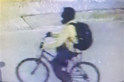 Pittsburgh police are asking for the public's help in identifying this bicyclist who they have named a person of interest in the April 1 shooting death of Meliek Rashad Hemingway, 22, in the East Hills.