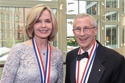 History Makers awardees, Sally Wiggin and Jay Apt.