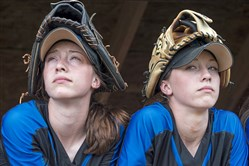West Greene twins Madison and McKenna Lampe led the softball team to a PIAA championship and have starred together in basketball. Now they will serve the Army in boot camp together.