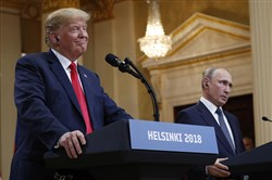 """The much-vaunted Putin-Trump summit has remained a dubious venture because we've had to rely on the account of it offered by Secretary of State Mike Pompeo, who wasn't present when the two leaders talked."""