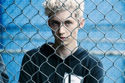 "Troye Sivan stars as Gary in ""Boy Erased."""