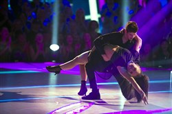 "Murraysville native Mackenzie Ziegler and her partner, Sage Rosen, did the cha-cha for the Nov. 11 ""Dancing With the Stars: Juniors."""