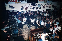 The Gathering Field, fronted by Bill Deasy, performing at Nick's Fat City in 1995.