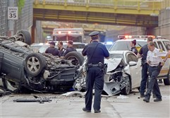Desiree Nelson of McKees Rocks was speeding and driving recklessly when she caused a three-vehicle crash on the 10th Street bypass that killed another driver in May 2018.