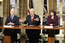 "NBC variety series ""Saturday Night Live,"" which was originally scheduled to return from hiatus on March 28, suspended production last month because of the COVID-19 outbreak. A new episode will air Saturday."